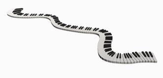 μουσική γραμμών Στοκ φωτογραφία με δικαίωμα ελεύθερης χρήσης