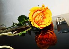 Μουσική εικόνα, σύμβολα Στοκ φωτογραφίες με δικαίωμα ελεύθερης χρήσης