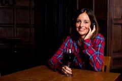 Μουσική και κρασί Στοκ εικόνα με δικαίωμα ελεύθερης χρήσης