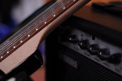 μουσική Κιθάρα Στοκ φωτογραφίες με δικαίωμα ελεύθερης χρήσης