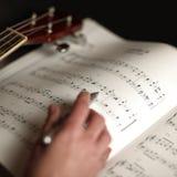 Μουσική μελέτης Στοκ Φωτογραφίες