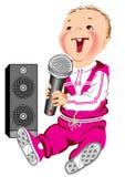 μουσική μωρών διανυσματική απεικόνιση