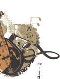 μουσική οργάνων ανασκόπη&sigma Στοκ Εικόνες