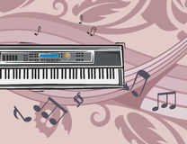 μουσική οργάνων ανασκόπησ απεικόνιση αποθεμάτων