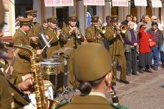 Μουσική οδών Carabinero στοκ εικόνα