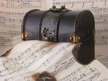 μουσική παλαιά Στοκ φωτογραφία με δικαίωμα ελεύθερης χρήσης