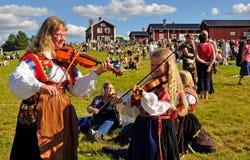 μουσική Σουηδία Στοκ φωτογραφία με δικαίωμα ελεύθερης χρήσης
