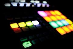 Μουσική στην παραγωγή Στοκ φωτογραφίες με δικαίωμα ελεύθερης χρήσης