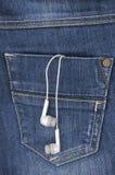 Μουσική στην τσέπη σας Στοκ Φωτογραφίες