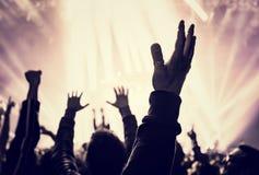 Μουσική συναυλία Στοκ εικόνα με δικαίωμα ελεύθερης χρήσης