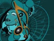 μουσική συνεργασίας Στοκ Εικόνα