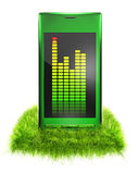 μουσική φυσική απεικόνιση αποθεμάτων