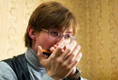 μουσική χεριών Στοκ φωτογραφία με δικαίωμα ελεύθερης χρήσης