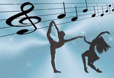 μουσική χορού Στοκ Φωτογραφίες