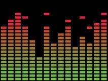 μουσική διαγραμμάτων Στοκ φωτογραφίες με δικαίωμα ελεύθερης χρήσης