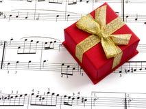 μουσική δώρων Στοκ εικόνα με δικαίωμα ελεύθερης χρήσης