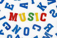 μουσική Στοκ φωτογραφίες με δικαίωμα ελεύθερης χρήσης