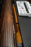 Μουσική Guqin καταγραφής Στοκ εικόνα με δικαίωμα ελεύθερης χρήσης