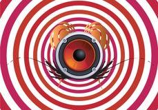 μουσική hypno Διανυσματική απεικόνιση