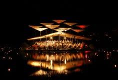 μουσική leigo λιμνών φεστιβάλ &tau Στοκ φωτογραφία με δικαίωμα ελεύθερης χρήσης