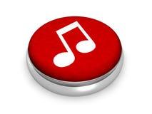 μουσική on-line Στοκ φωτογραφία με δικαίωμα ελεύθερης χρήσης