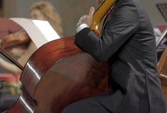 μουσικοί στη συναυλία της κλασικής μουσικής Στοκ φωτογραφίες με δικαίωμα ελεύθερης χρήσης