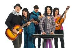 μουσικοί συναυλίας στοκ φωτογραφία με δικαίωμα ελεύθερης χρήσης