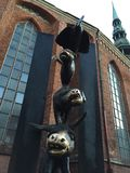 Μουσικοί της Βρέμης Στοκ Φωτογραφία