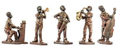 Μουσικοί της Jazz Στοκ Εικόνες