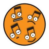 μουσικοί τόνοι Στοκ εικόνες με δικαίωμα ελεύθερης χρήσης