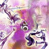 μουσικοί Στοκ Εικόνα