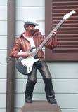 Μουσικός αγαλμάτων Στοκ φωτογραφία με δικαίωμα ελεύθερης χρήσης
