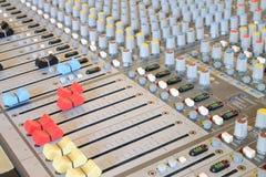 Μουσικός αναμίκτης Στοκ εικόνα με δικαίωμα ελεύθερης χρήσης
