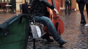 Μουσικός εκτελεστών οδών στη Ρώμη φιλμ μικρού μήκους