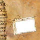μουσικός παλαιός πλαισί&om διανυσματική απεικόνιση