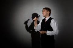 Μουσικός της Jazz Στοκ εικόνα με δικαίωμα ελεύθερης χρήσης
