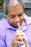 Μουσικός της Jazz στοκ φωτογραφία