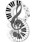 Μουσικός ελεύθερη απεικόνιση δικαιώματος