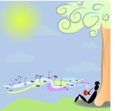 Μουσικός Saxophone Ελεύθερη απεικόνιση δικαιώματος