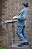 Μουσικό άγαλμα στη σοκολάτα Ville στη Μπανγκόκ Στοκ εικόνες με δικαίωμα ελεύθερης χρήσης