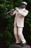 Μουσικό άγαλμα στη σοκολάτα Ville στη Μπανγκόκ Στοκ Φωτογραφία