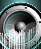 μουσικό διάνυσμα θέματος ομιλητών απεικόνισης ελεύθερη απεικόνιση δικαιώματος