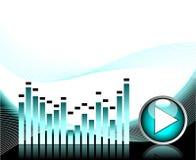 μουσικό διάνυσμα θέματο&sigmaf απεικόνιση αποθεμάτων