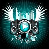 μουσικό διάνυσμα θέματο&sigmaf ελεύθερη απεικόνιση δικαιώματος