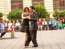 μουσικό διάνυσμα απεικόνισης χορού ζευγών Στοκ φωτογραφία με δικαίωμα ελεύθερης χρήσης