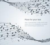 μουσικό παιχνίδι σημειώσεων οργάνων επιχορήγησης Στοκ εικόνες με δικαίωμα ελεύθερης χρήσης