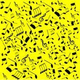 μουσικό παιχνίδι σημειώσεων οργάνων επιχορήγησης Στοκ φωτογραφία με δικαίωμα ελεύθερης χρήσης