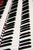 μουσικό πιάνο οργάνων Στοκ Εικόνα