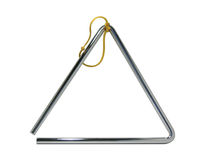 μουσικό τρίγωνο Στοκ Εικόνες