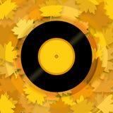 Μουσικό φθινόπωρο Στοκ φωτογραφία με δικαίωμα ελεύθερης χρήσης